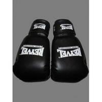 Перчатки боксерские REYVEL винил чёрные