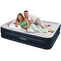 Надувные кровати  Intex 67738 (152 х 203 х 43 см.) с встроенным насосом, фото 1