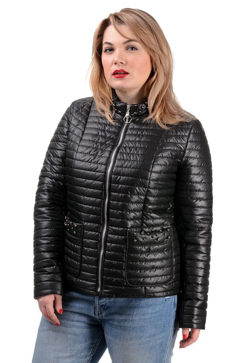251 Куртка демисезонная Вива черный (50-56)