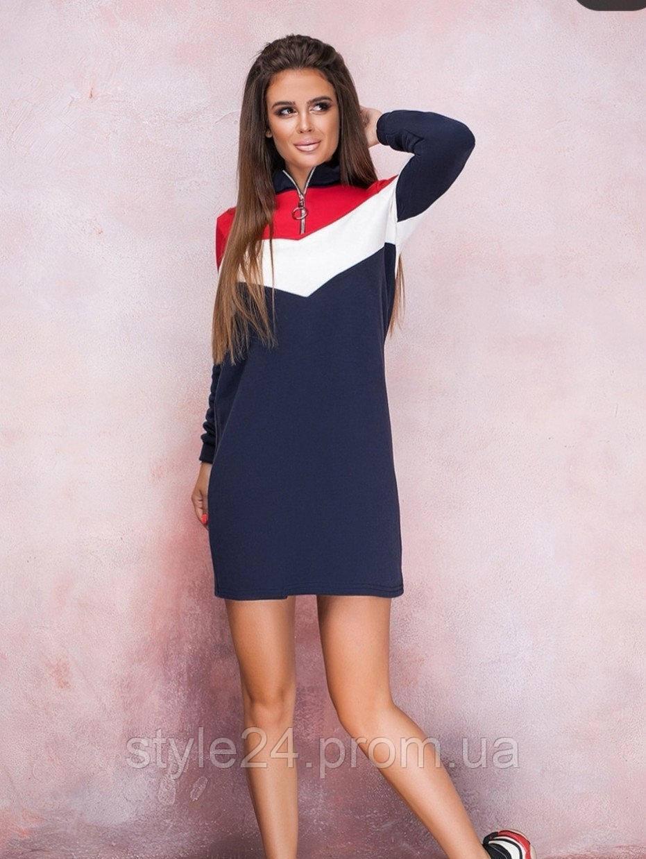 Жіноче плаття спортивного стилю ,2 кольори .Р-ри 42-52