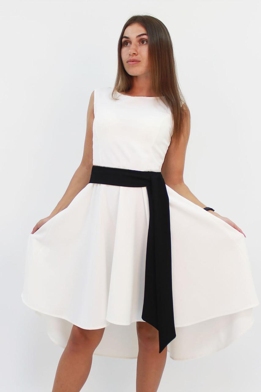 M, L | Вечірнє жіноче плаття Stefany, молоко