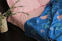 Качественное постельное белье Веселый фламинго, 2-спальный набор