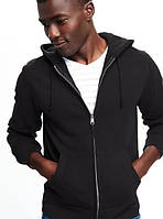 Фирменная мужская толстовка пуловер худи на молнии с капюшоном Old Navy. Оригинал