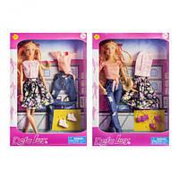 """Кукла """"Defa"""" с комплектом одежды 8383 scs"""