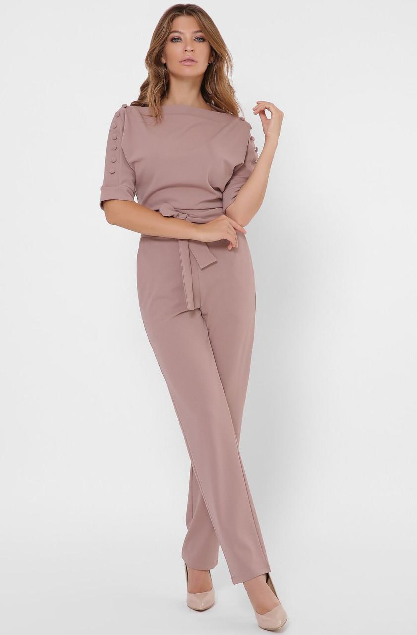 Стильный женский комбинезон с брюками