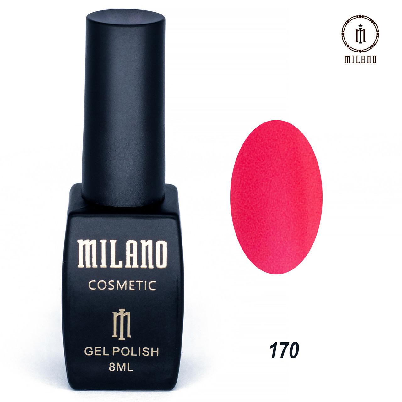 Гель-лак Milano 8 мл. №170⭐⭐⭐⭐⭐