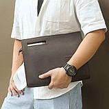 Коричневая кожаная сумка A0011RS, фото 8