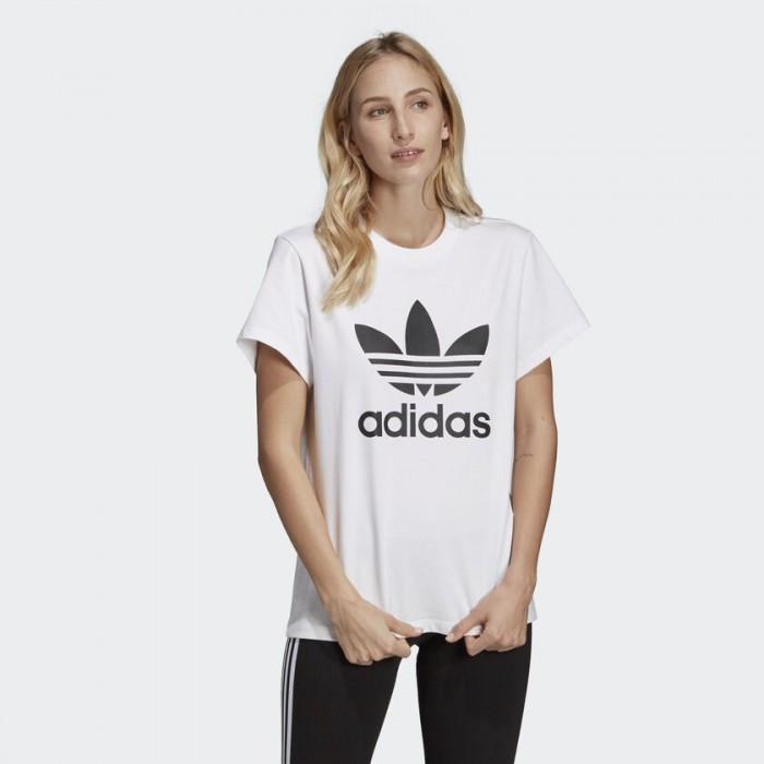 Женская футболка Adidas Originals Boyfriend Trefoil DX2322