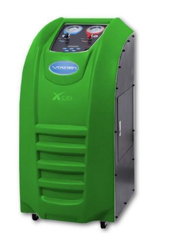 Установка для обслуживания автокондиционеров полуавтомат Viaken X520 на базе R-1234YF