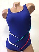 Купальник женский спортивный  для бассейна 3777-1 синий, фото 1
