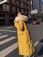Пуховик жіночий довгий Катрін, фото 5