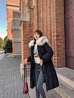 Пуховик жіночий довгий Катрін, фото 7
