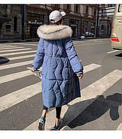 Пуховик жіночий довгий Катрін, фото 8