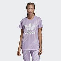 Женская футболка Adidas Originals Boyfriend Trefoil DV2624, фото 1