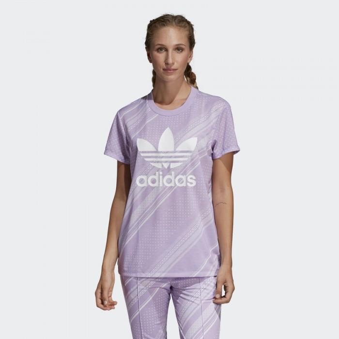 Женская футболка Adidas Originals Boyfriend Trefoil DV2624
