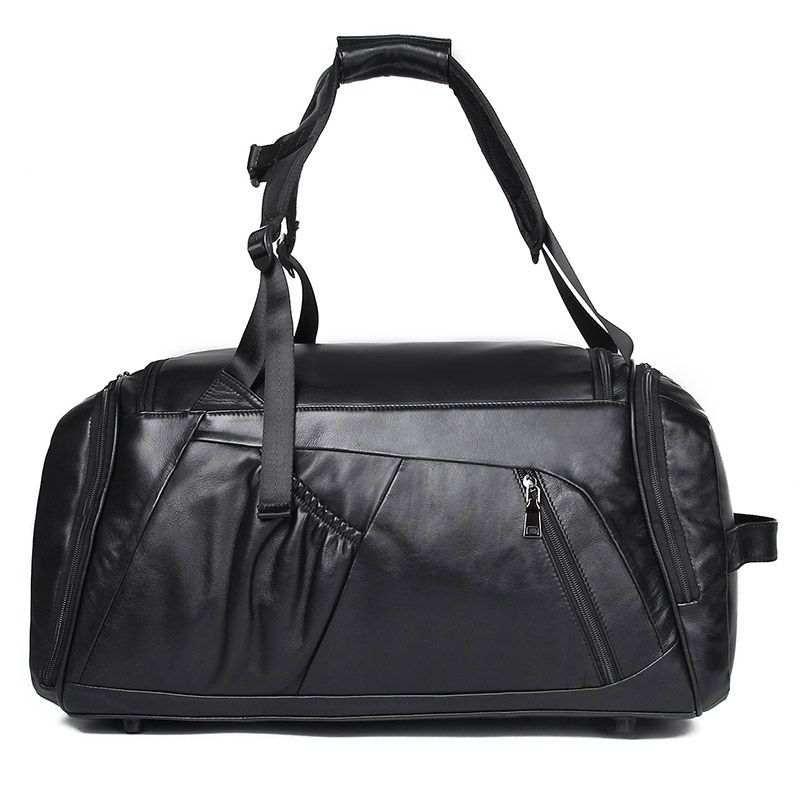 Натуральна шкіряна сумка - рюкзак X-6010A