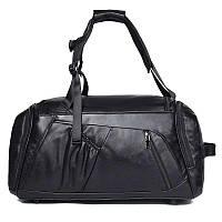 Натуральная кожаная сумка - рюкзак X-6010A