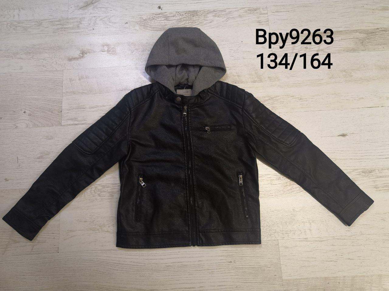 Куртки кожзам для мальчиков оптом, размеры 134-164,  Glo-story, арт. ВPY-9263