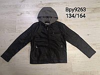 Куртки кожзам для мальчиков оптом, размеры 134-164,  Glo-story, арт. ВPY-9263, фото 1