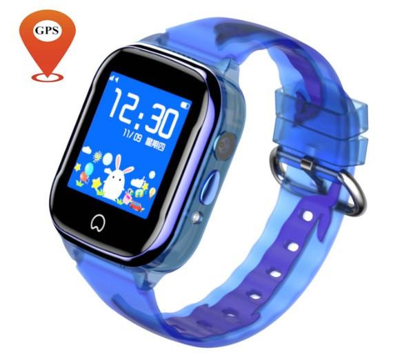 Детские Водонепроницаемые часы с gps K21 голубые