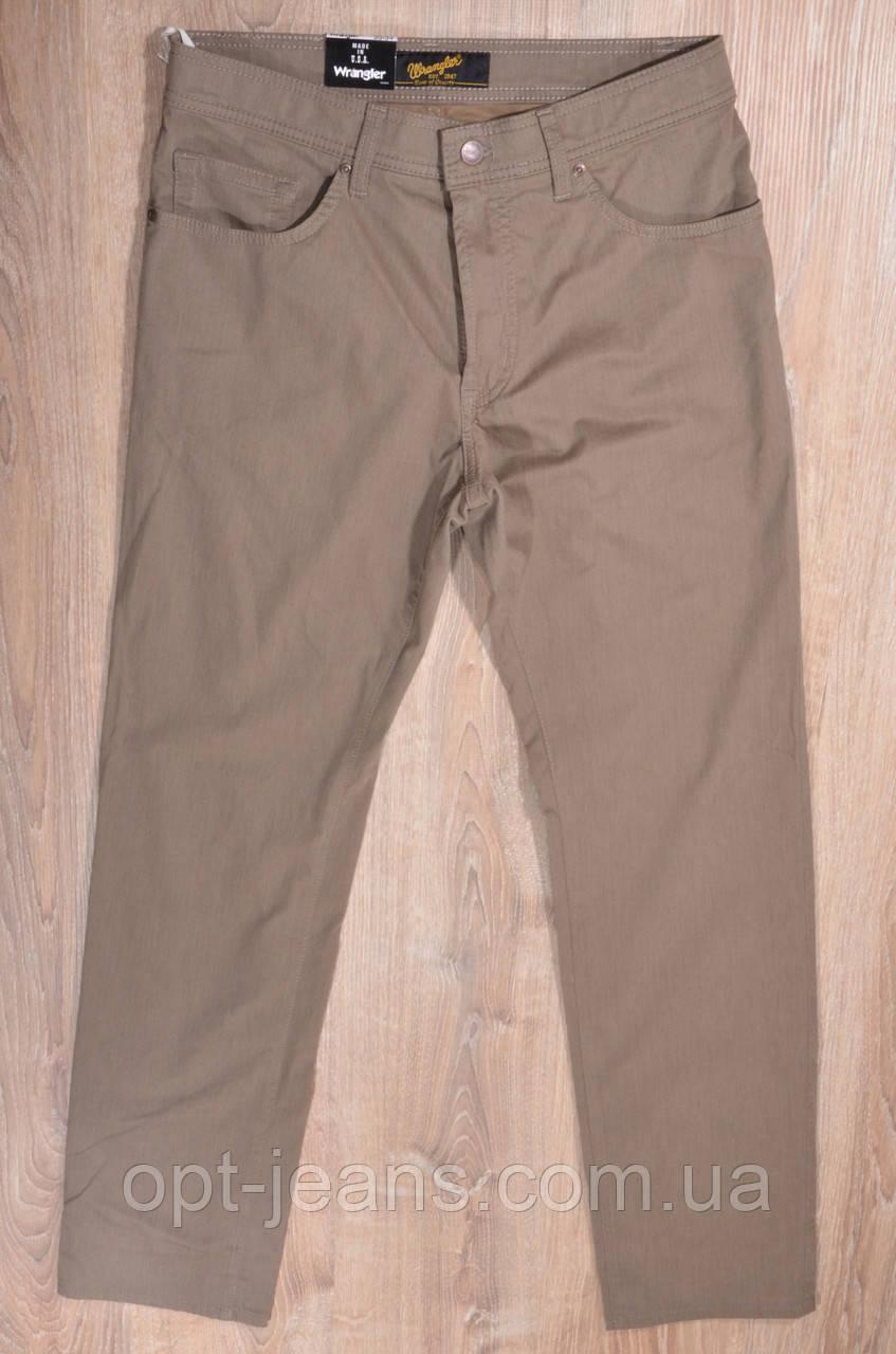Wrangler мужские котоновые  джинсы (33-42/8ед.)  Осень 2019
