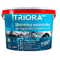 Шпаклевка фасадная влагостойкая Triora 0.8кг