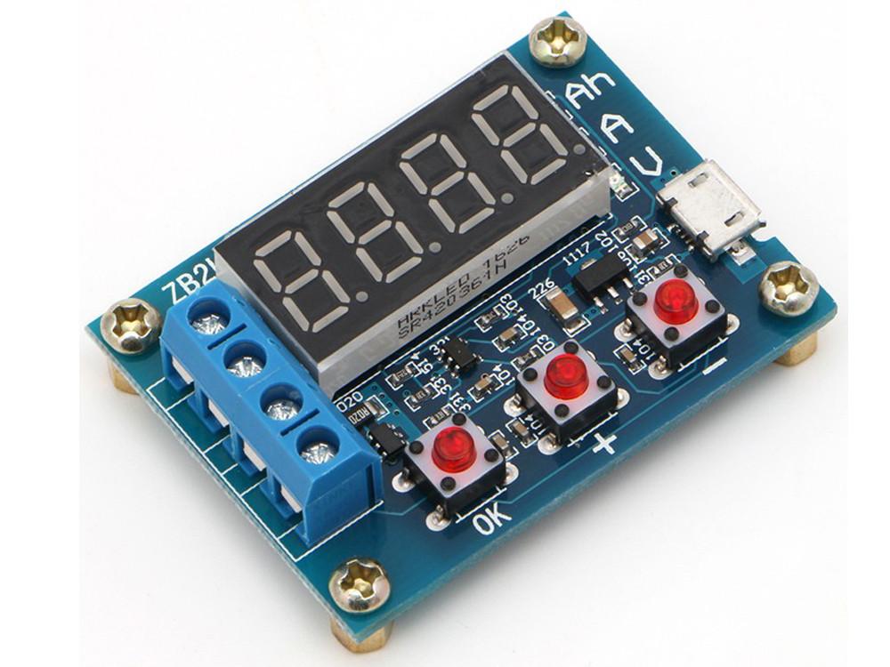 ZB2L3 Тестер, вимірювач ємності акумуляторів 1В-15В 3А