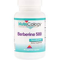 Берберин 500, Nutricology, 90 вегетарианских капсул