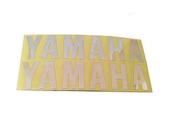 Наклейка YAMAHA(хром)пара
