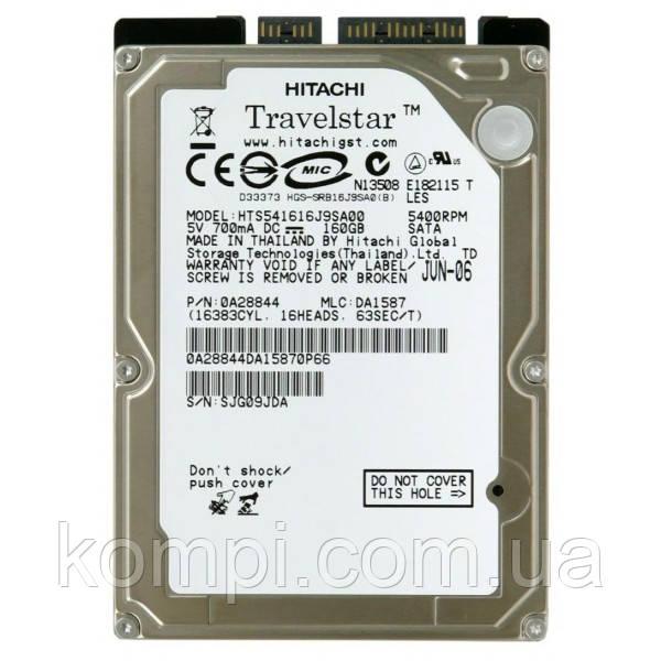 """HDD Hitachi 160Gb Sata II 2.5 """" ноут/нетбук  Ідеальний стан"""
