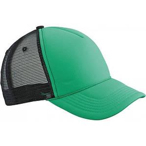 Кепка тракер Ретро Зелёный / Чёрный