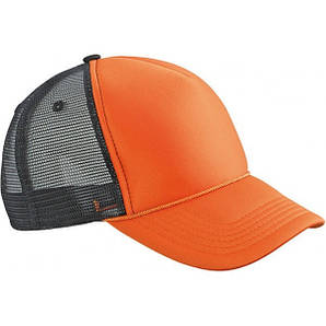 Кепка тракер Ретро Оранжевый / Чёрный