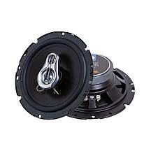 Коаксиальная автомобильная акустика Phantom LX-165 16см., авто колонки 120Вт