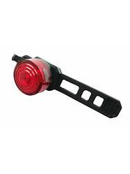 Стоп / Мигалка велосипедная задняя JING YI  JY-6003 T на батарейках / 1 супер яркий диод
