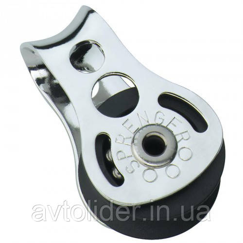 SPRENGER : Нержавеющий одношкивный MIСRO XS блок на шарикоподшипнике, канат 6 мм