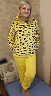 Пижама махровая  женская  с капюшоном 44-50р ,доставка по Украине