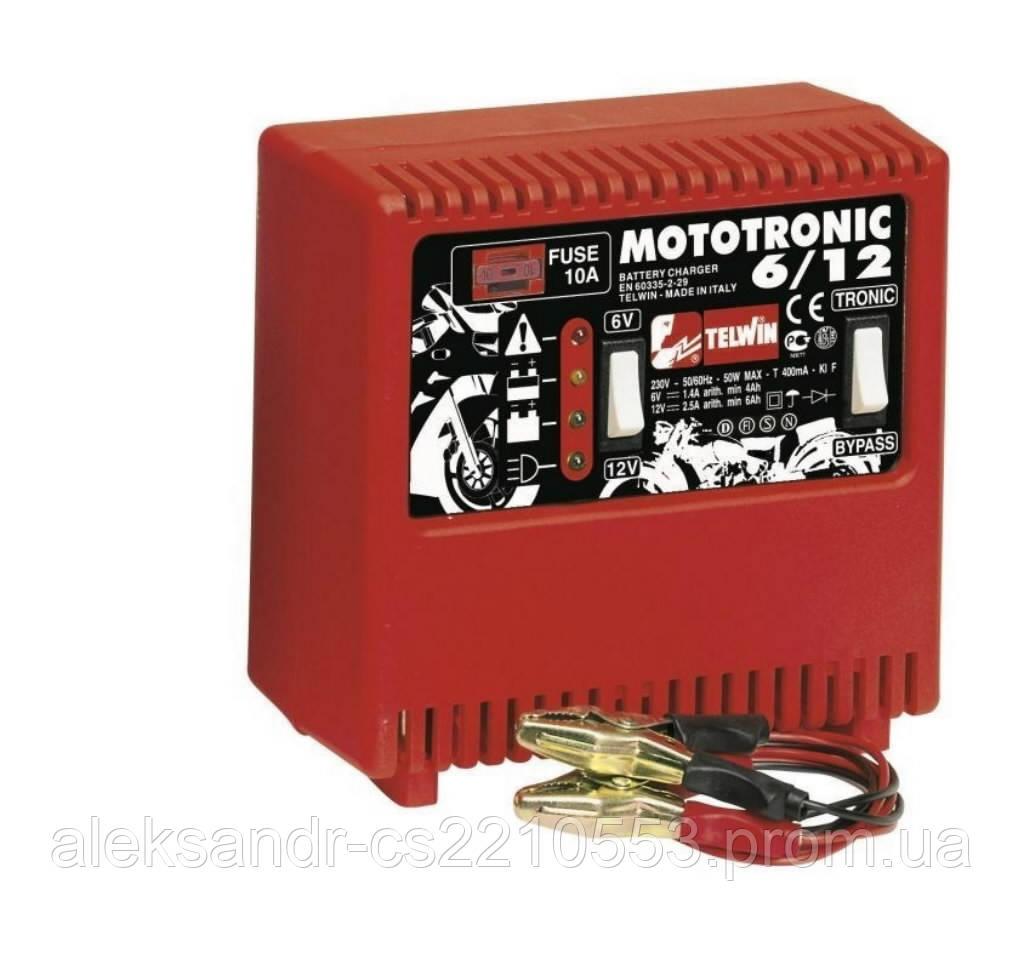Telwin MotoTronic 6/12 - Зарядное устройство