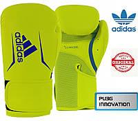 Боксерские перчатки Adidas SPEED 100 (ADISBG100-YL, Салатовый), фото 1