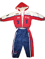 Комплект Куртка штаны и кофта Jiao 18619С на рост 86-92 см Тройка