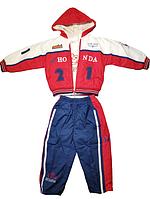 Комплект Куртка штаны и кофта Jiao 18619С на рост 92-98 см Тройка