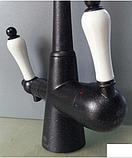 Змішувач 2 в 1 в чорному кольорі 1-134, фото 3