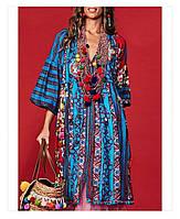 Итальянское платье с вышивкой Positano