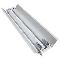 Светильник открытый под две led лампы 60см СПВ 02-600 стандарт MSK Electric, фото 1