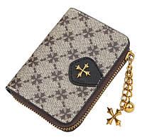 Жіночий гаманець BAELLERRY N5562 Fashion Style Mini клатч Сіро-Чорний (SUN5507), фото 1