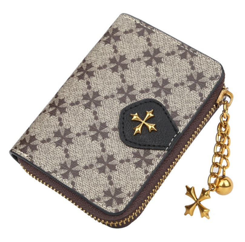 Жіночий гаманець BAELLERRY N5562 Fashion Style Mini клатч Сіро-Чорний (SUN5507)