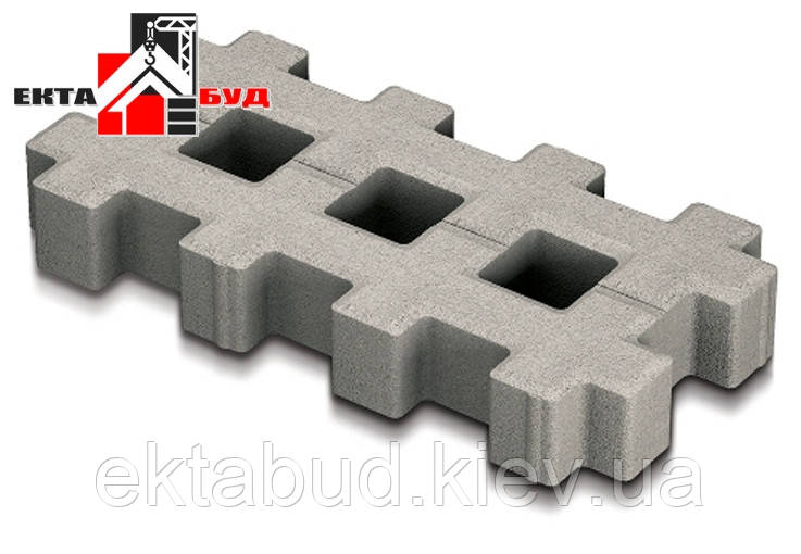 Парковочная решетка 8 (40х20) Серый / Паркувальна решітка 8 (40х20) Сірий