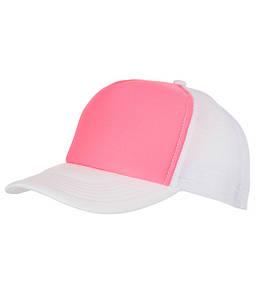 Кепка Тракер Розовый / Белый