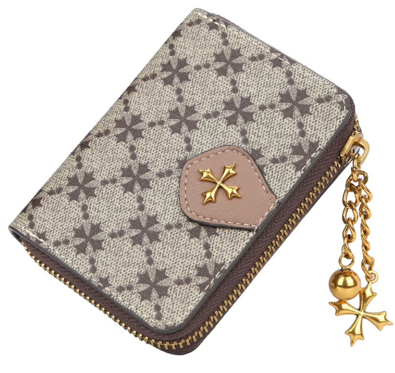 Жіночий гаманець BAELLERRY N5562 Fashion Style Mini клатч Сіро-Рожевий (SUN5509)