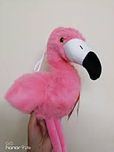 Мягкая игрушка Фламинго розовый