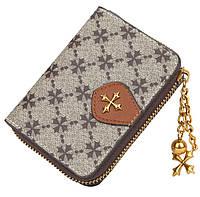 Жіночий гаманець BAELLERRY N5562 Fashion Style Mini клатч Сіро-Коричневий (SUN5510), фото 1